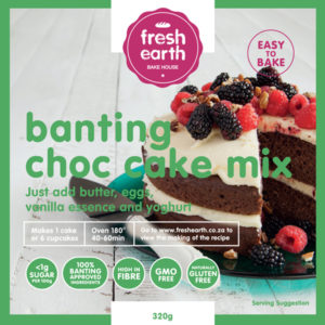 Banting Chocolate Cake Mix