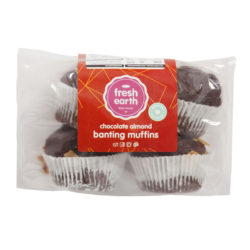 Banting Cocoa Almonds Muffin