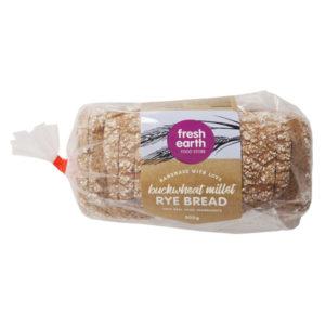 Buckwheat Millet Rye Bread