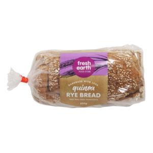 Quinoa Rye Bread