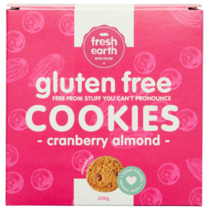 Tea Cookie - Cranberry Almond - Gluten Free