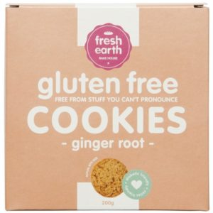 Tea Cookie - Ginger: Gluten & Sugar Free