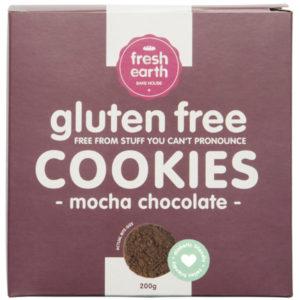 Tea Cookie - Mocha Chocolate - Gluten & Sugar Free